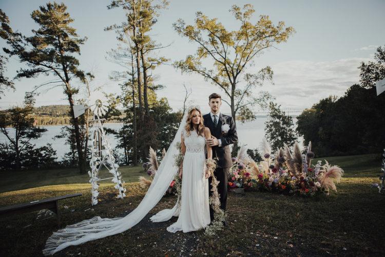 Ana & Chris- Uniquely Colorful Wedding