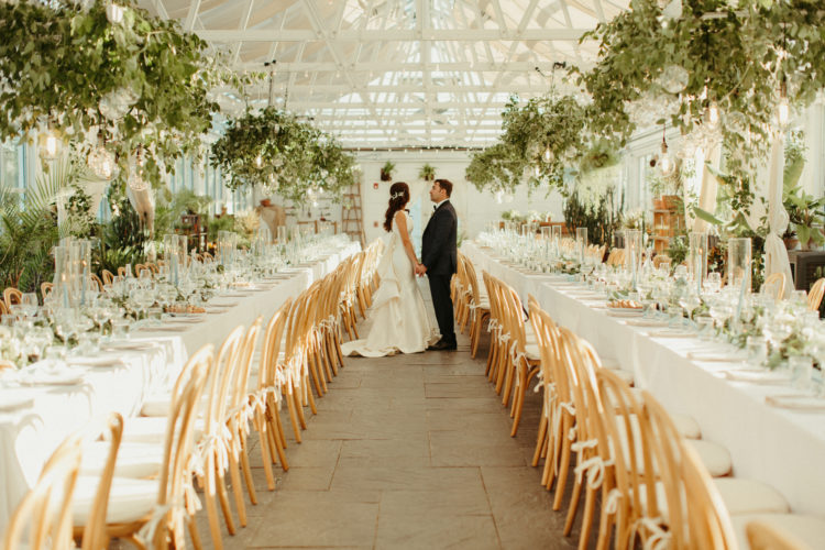 Diana & Mike- Hudson Valley Greenhouse Wedding